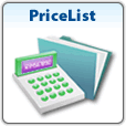 Pricelist of services